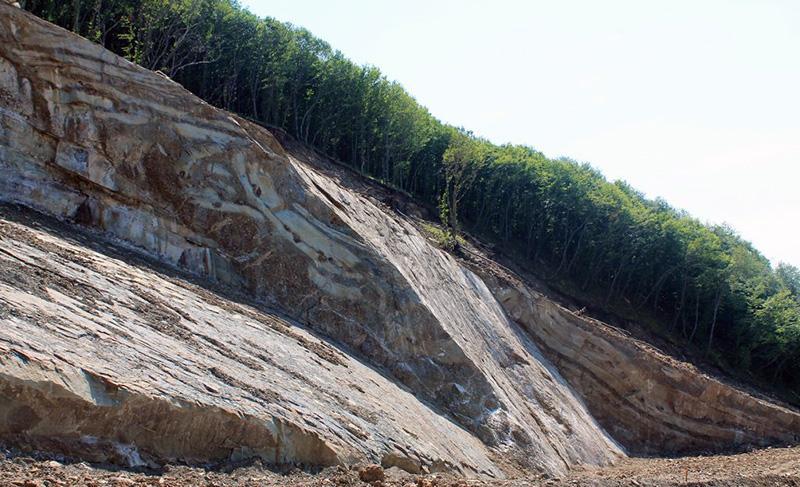 წყნეთი-სამადლოს გზის დამეწყრილი მონაკვეთის გეოლოგიური კვლევა